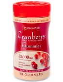 Puritan's Pride Cranberry Fruit Concentrate 25000mg (30 таб)