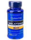 Купить Мелатонин Puritan's Pride Melatonin 5 mg (120 таб)