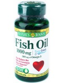 Купить Омега Nature's Bounty Fish Oil 1000 mg (60 капс)
