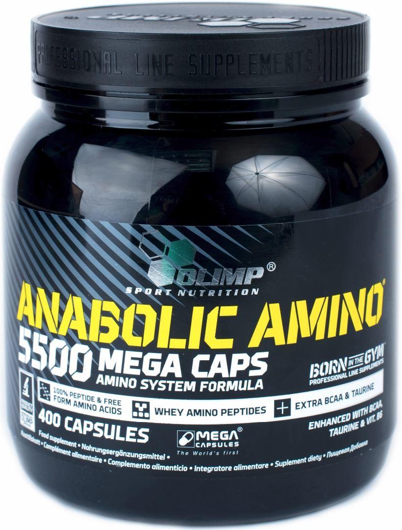 olimp anabolic amino 9000 mega caps dosierung