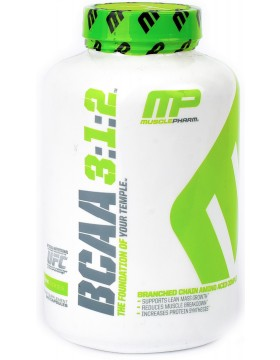 Фото MusclePharm BCAA 3:1:2 240 caps.