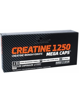 Фото Olimp Nutrition Creatine mega caps 1250 (120 капс)