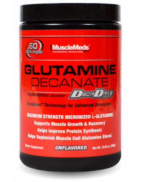 Фото MuscleMeds Glutamine decanate  0.3 kg (300 г)