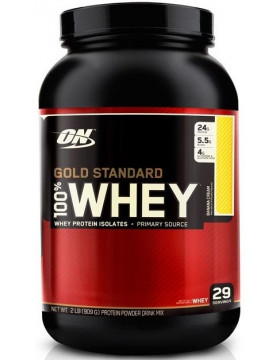 Фото Optimum Nutrition Gold Standard 100% Whey Protein 909 г