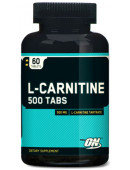 Optimum Nutrition L-carnitine 500 (60 табл)