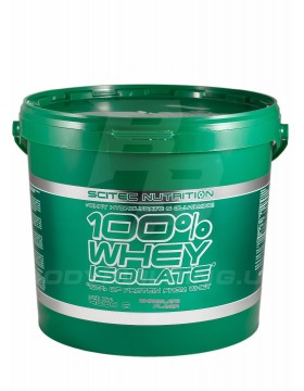 Scitec Nutrition 100% Whey Isolate 4 kg (4000 гр)