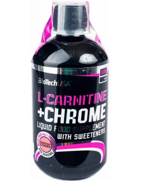 Фото BioTech L-carnitine 35.000 + Chrome (500 мл)