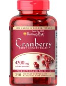 Cranberry Fruit Concentrate 4200mg (250 капс.)