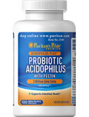 Puritan's Pride Probiotic Acidophilus with Pectin (60 таб)