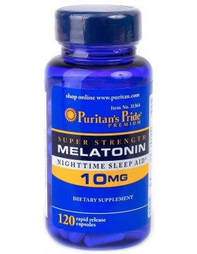 Фото Melatonin 10mg (120 таб.)