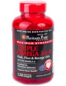 Triple Omega 3-6-9 Maximum Strength (120 капс.)