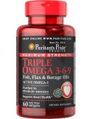Triple Omega 3-6-9 Maximum Strength (60 капс.)
