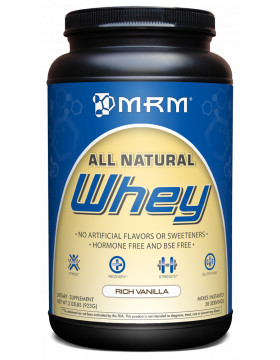 Фото MRM Natural Whey (900 гр)
