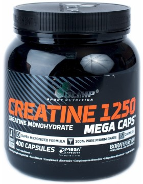 Фото Olimp Nutrition Creatine mega caps 1250 (400 капс)