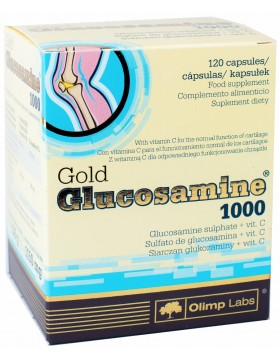 Фото Olimp Nutrition Gold Glucosamine 1000 (120 капс)