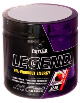 Фото Cutler Nutrition Legend 140g
