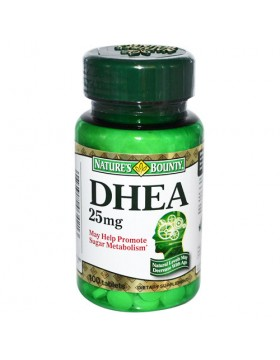 Фото Nature's Bounty DHEA 25 mg (100 таб)