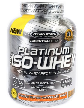 Фото MuscleTech Platinum 100% ISO Whey 1.5 kg (1500 г.)
