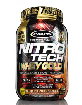 Фото Nitro Tech Whey Gold (1130 гр.)