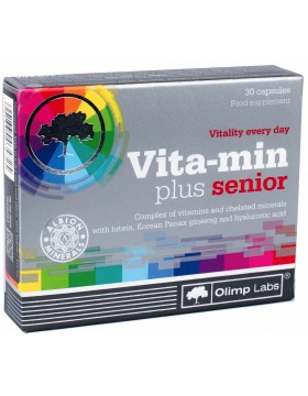 Фото Olimp Nutrition Vita-min Plus Senior (30 капс)