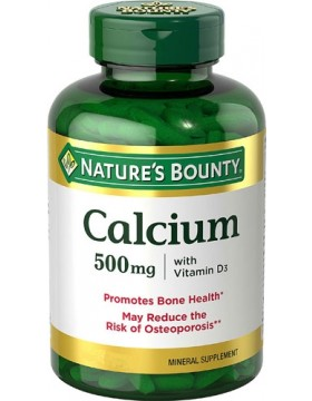 Фото Calcium 500mg with Vitamin D3 (60 таб.)