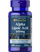 Alfa Lipoic Acid 600mg (60 капс.)