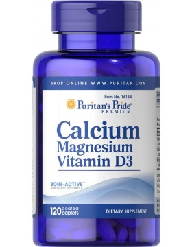 Фото Calcium Magnesium with Vitamin D (120 таб.)