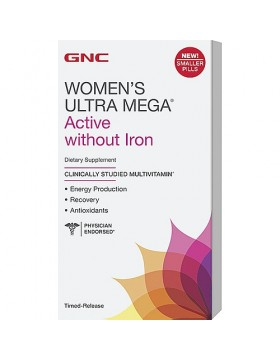 Women's Ultra Mega Active without Iron (90 таб.)