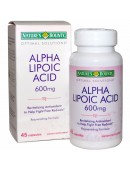 Купить БАДы Nature's Bounty Alfa Lipoic Acid 600 mg (45 капс)