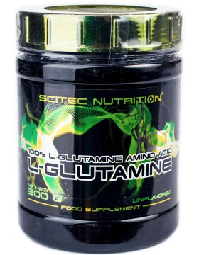 Фото Scitec Nutrition L-Glutamine 0.3 kg (300 гр)