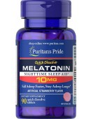 Купить Мелатонин Puritan's Pride Melatonin Flavoured 10mg (90 таб)