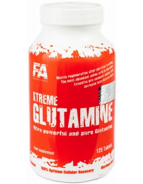 Фото Fitness Authority Xtreme glutamine (125 табл)