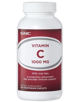 Vitamin C 1000mg with Rose Hips (100 таб.)
