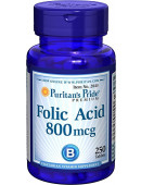 Folic Acid 800 mcg (250 таб.) (250 таб.)