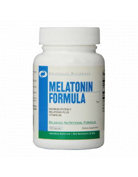 Фото Melatonin Formula (120 капс.)