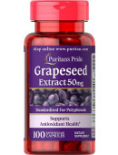 Puritan's Pride Grapeseed Extract 50mg (100 капс)