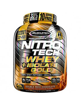 Фото Nitro Tech Whey Isolate Gold (1800 гр.) (1800 гр.)