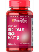 Puritan's Pride Red Yeast Rice 600mg (120 капс.) (120 капс)