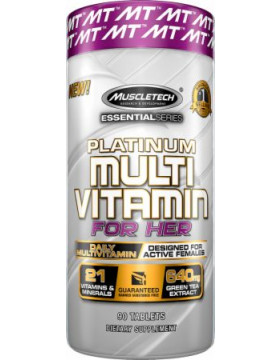 Фото MuscleTech  Platinum Multi Vitamin For Her  (90 таб).