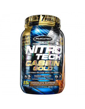 Фото MuscleTech Nitro Tech Casein Gold (1150 гр.)