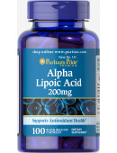 Puritan's Pride Alpha Lipoic Acid 200mg (100 капс.)