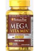 Puritan's Pride Mega Vita Min for Seniors (100 таб.) (100 таб)
