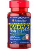 Premium Mini Gels Omega-3 Fish Oil 1290 mg (120 капс.)
