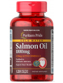 Puritan's Pride Salmon Oil 1000mg (120 капс.) (120 капс)