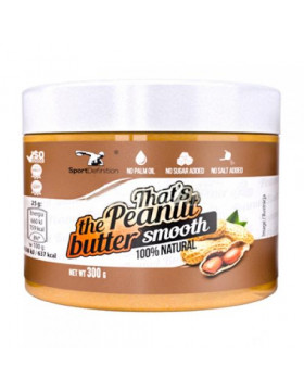 Фото Thats the Peanut butter smooth (300 г)