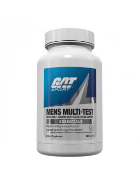Фото GAT Mens Multi+Test (60 таб)