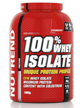 Фото Nutrend 100% Whey Isolate (1800 г)