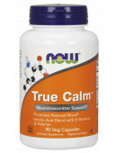 NOW True Calm Amino Relaxer (90 капс)