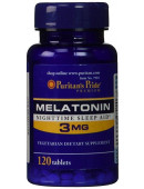 Puritan's Pride Melatonin 3mg (120 капс)