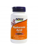 NOW Hyaluronic Acid 50 мг+MSM (60 капс)